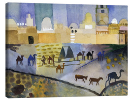 Canvas print  Kairouan I - August Macke