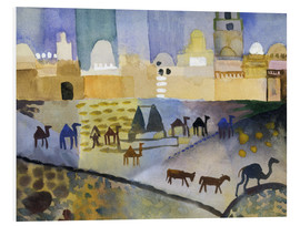 Foam board print  Kairouan I - August Macke