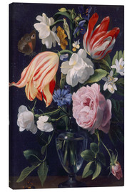 Canvas print  Vase with flowers - Daniel Seghers