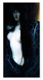 Premium poster  The Sin - Franz von Stuck