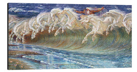 Alu-Dibond  The Horses of Neptune - Walter Crane