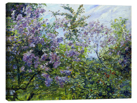 Canvas print  Blossoming lilac. About 1921 - Max Slevogt