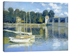 Canvas print  The Bridge at Argenteuil - Claude Monet