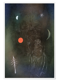 Premium poster  Learned in dealing with stars. - Paul Klee