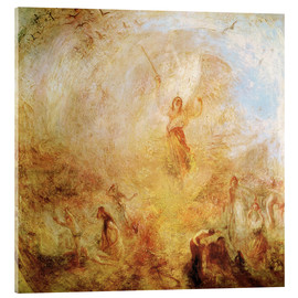 Acrylic print  The Angel Standing in the Sun - Joseph Mallord William Turner