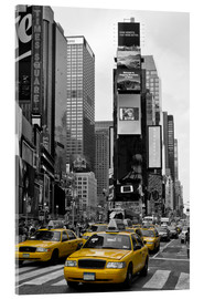 Acrylic print  NEW YORK CITY Times Square - Melanie Viola