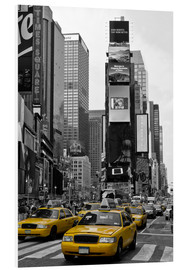 Foam board print  NEW YORK CITY Times Square - Melanie Viola