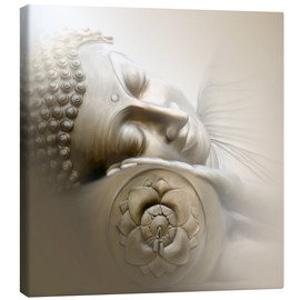 Canvas print  Sleeping Buddha - Christine Ganz