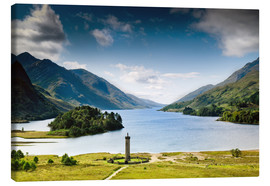 Canvas print  Scotland - Glenfinnan at Loch Shiel - Reiner Würz