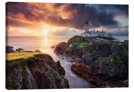 Canvas print  Fanad Light - Michael Breitung