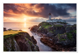 Premium poster Fanad Light