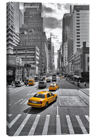 Canvas print  new York Yellow Cab - Marcus Klepper