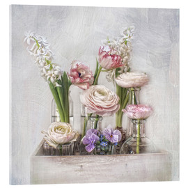 Acrylic glass  all about spring - Lizzy Pe