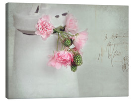 Canvas print  roses&berries - Lizzy Pe