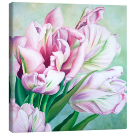 Canvas  Tulips 2 - Renate Berghaus