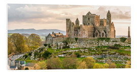Foam board print  Castle 'Rock of Cashel', Ireland - Olaf Protze