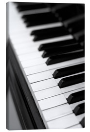 Canvas print  Piano - Falko Follert