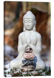 Canvas print  Buddha Happy - Renate Knapp
