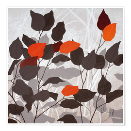 Premium poster Autumn leaves III