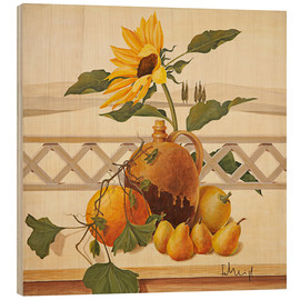 Wood print  Autumn still life - Franz Heigl