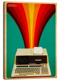 Canvas print  Grandfather computer - David Siml