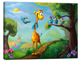 Canvas print  Giraffraf - Tooshtoosh