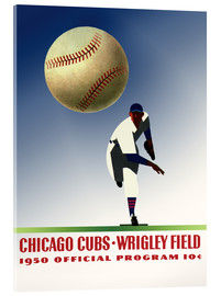 Acrylic print  chicago cubs 1950 - Sporting Frames