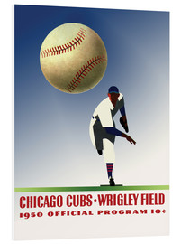 Foam board print  chicago cubs 1950 - Sporting Frames