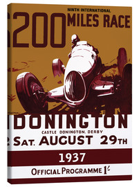 Canvas print  donington - Sporting Frames