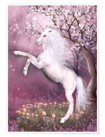 Premium poster  Unicorn Energy - Dolphins DreamDesign