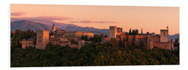 Forex  Spain - Granada Alhambra Sunset - Tobias Richter