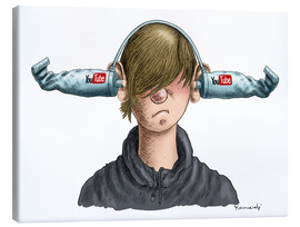 Canvas print  Youtube Boy - Marian Kamensky