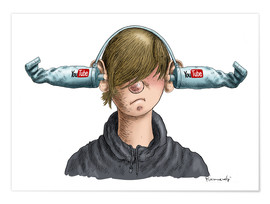 Poster  You Tube Boy - Marian Kamensky