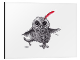 Aluminium print  Chief Red - Happy Owl - Stefan Kahlhammer