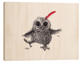 Wood  Chief Red - Happy Owl - Stefan Kahlhammer