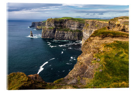 Acrylic print  Cliffs of Moher, Ireland - Jürgen Klust