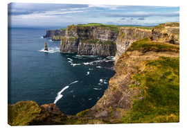 Canvas  Ireland - Cliffs of Moher - Jürgen Klust