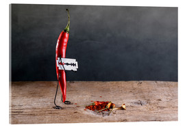 Acrylic print  Simple Things - Chili Pepper - Nailia Schwarz