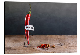 Aluminium print  Simple Things - Chili Pepper - Nailia Schwarz