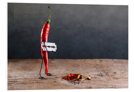 Foam board print  Simple Things - Chili Pepper - Nailia Schwarz