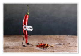 Premium poster  Simple Things - Chili Pepper - Nailia Schwarz