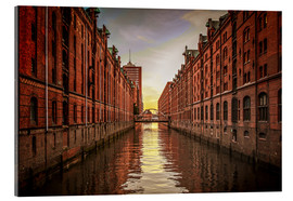 Acrylic print  Warehouse District - Thomas Deter