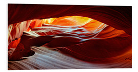 Foam board print  Antelope Canyon USA - Michael Rucker