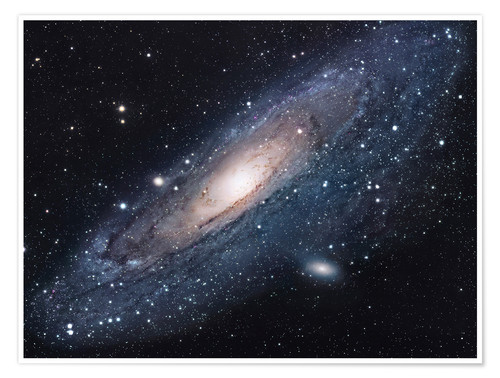 Premium poster The andromeda galaxy