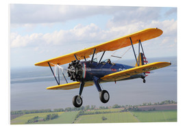 Foam board print  Boeing Stearman Model 75 Kaydet - Daniel Karlsson