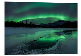 Foam board print  Northern Lights, Norway - Arild Heitmann
