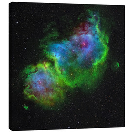 Canvas print  The Soul Nebula - Rolf Geissinger