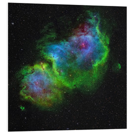 Foam board print  The Soul Nebula - Rolf Geissinger