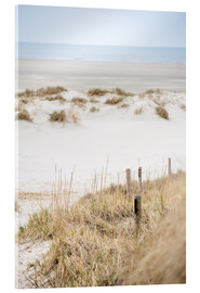 Acrylic print  German sea (St. Peter Ording) - gn fotografie