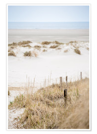 Premium poster  German sea (St. Peter Ording) - gn fotografie